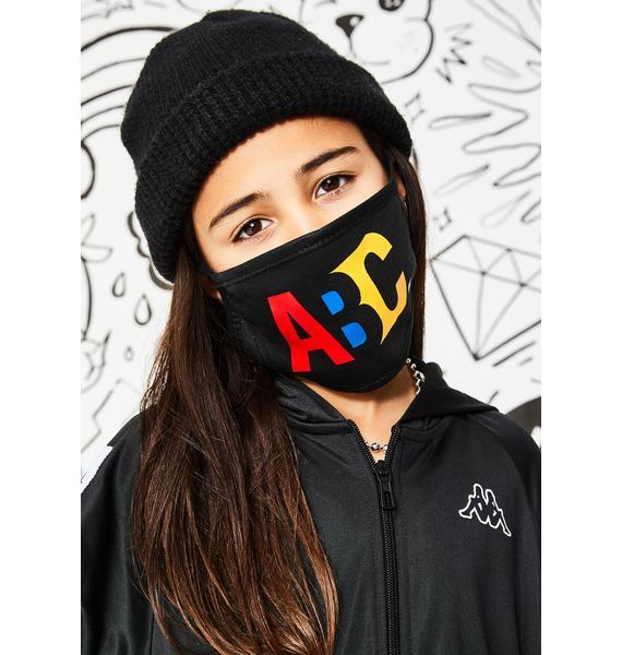 A.B.C. Kidswear ABC XYZ Face Mask