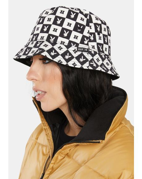 x Playboy Reversible Bucket Hat