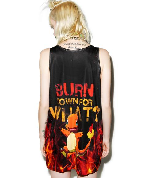 Burn Down For What Tank