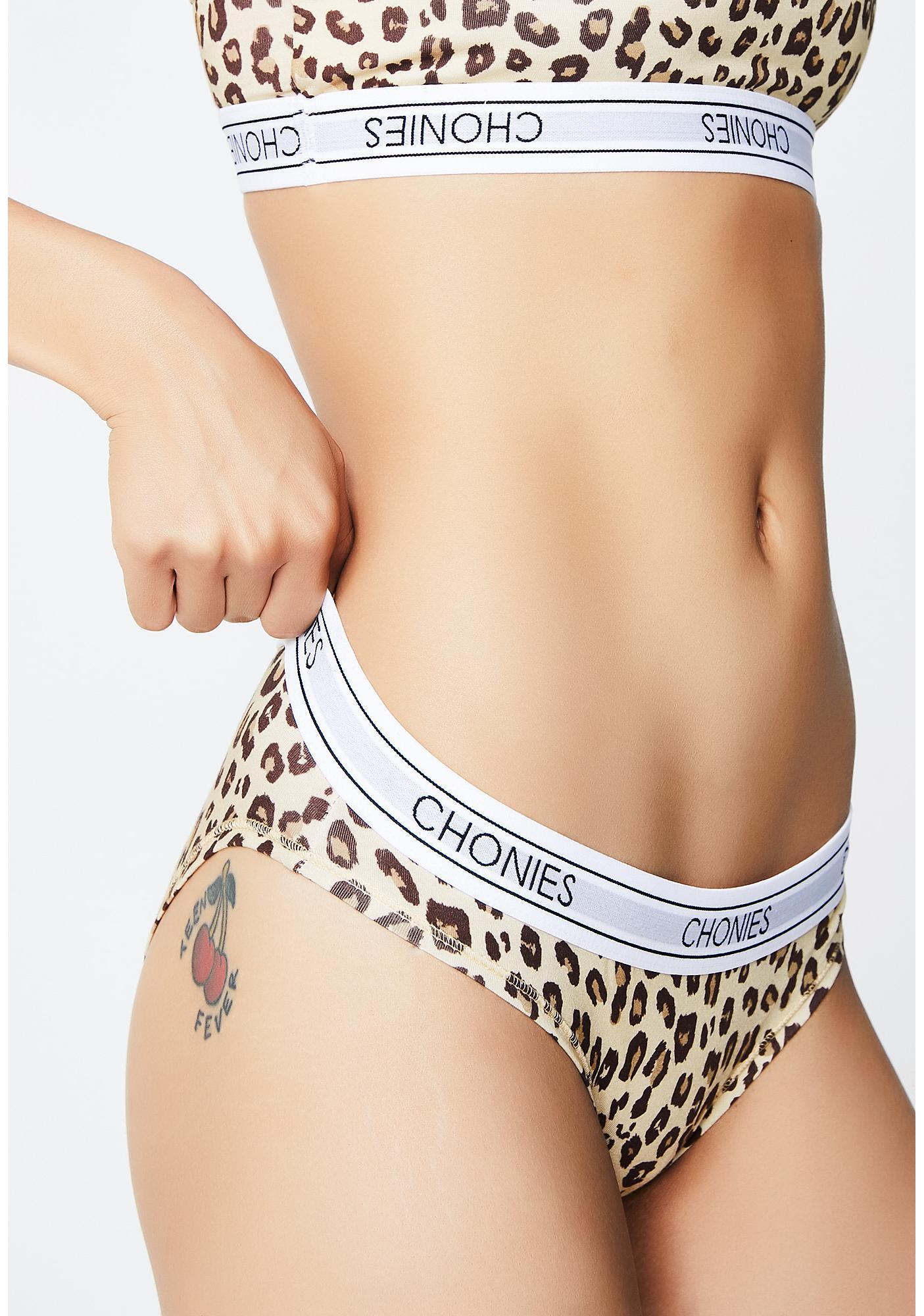 Chonies Leopard Classic Brief