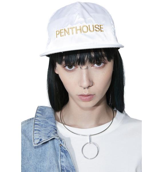 HUF Penthouse Satin Snapback