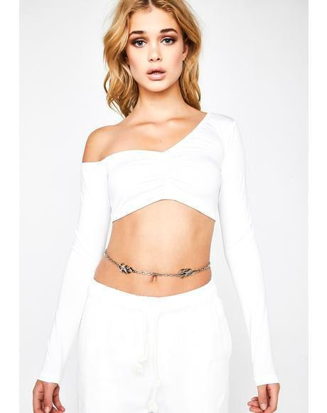 Icy Blessed N' Bougie Crop Top