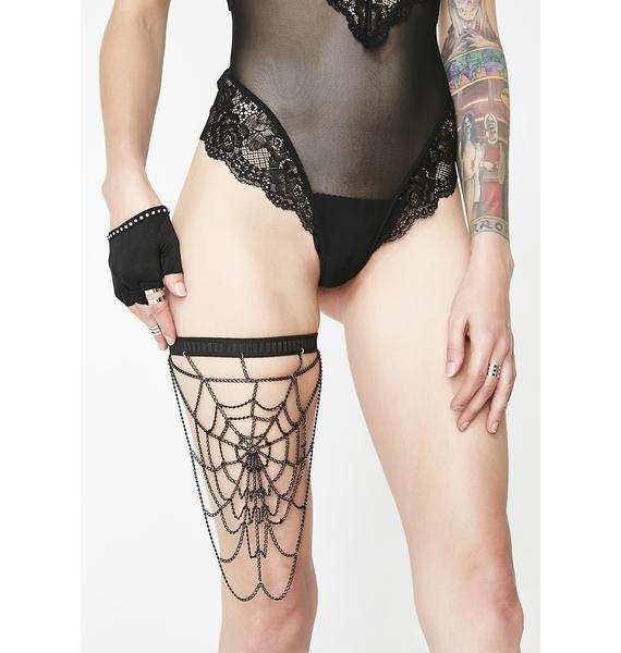 Dark Web Leg Harness