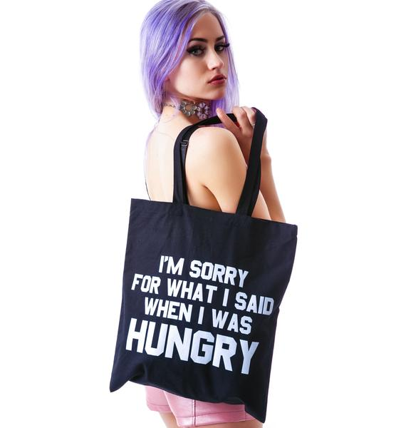 Jac Vanek Hungry Tote Bag
