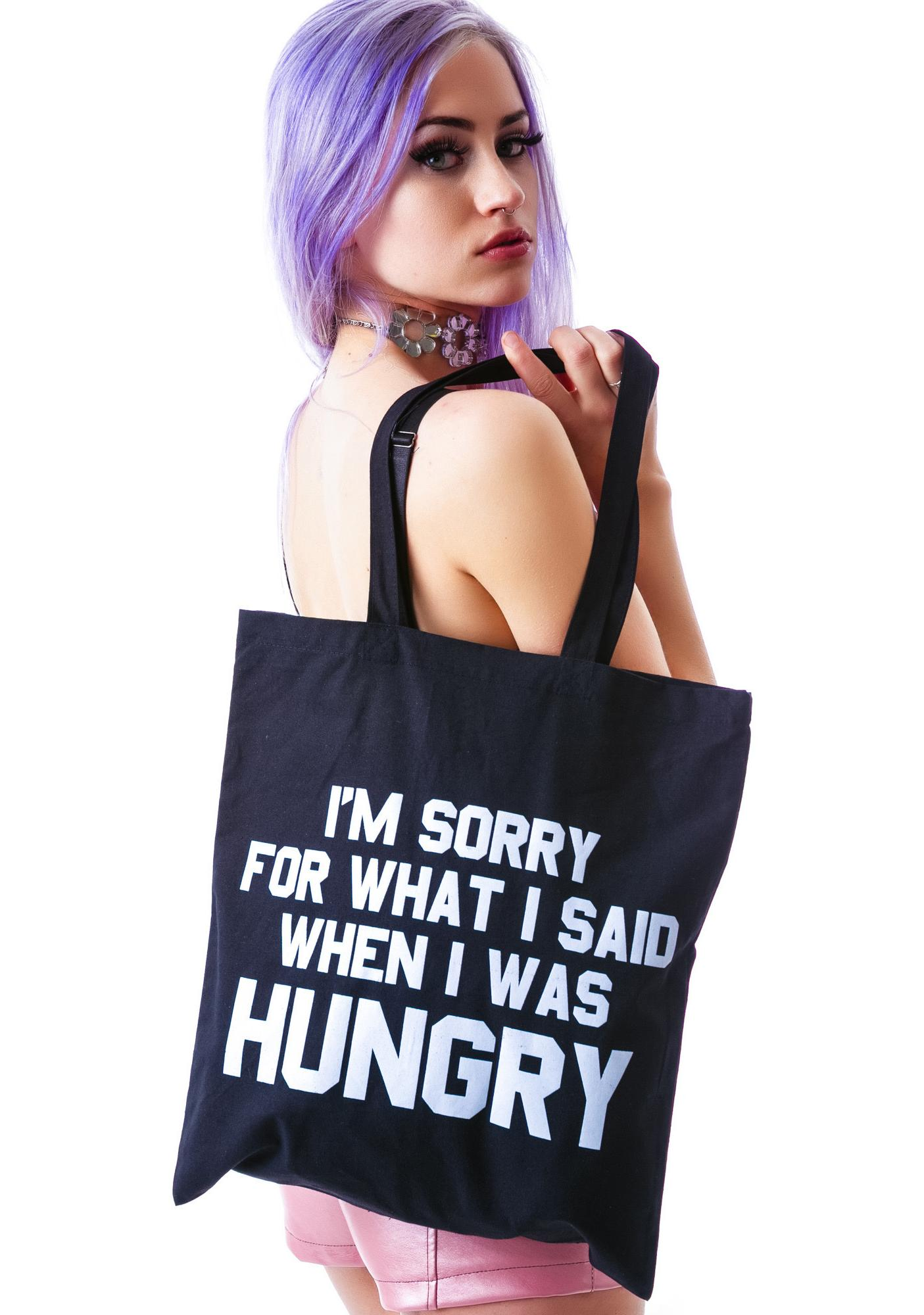 Jac Vanek Hungry Tote Bag