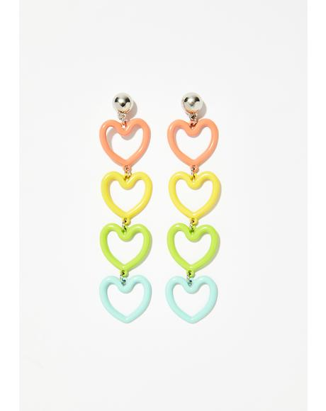 Love Shine Drop Earrings