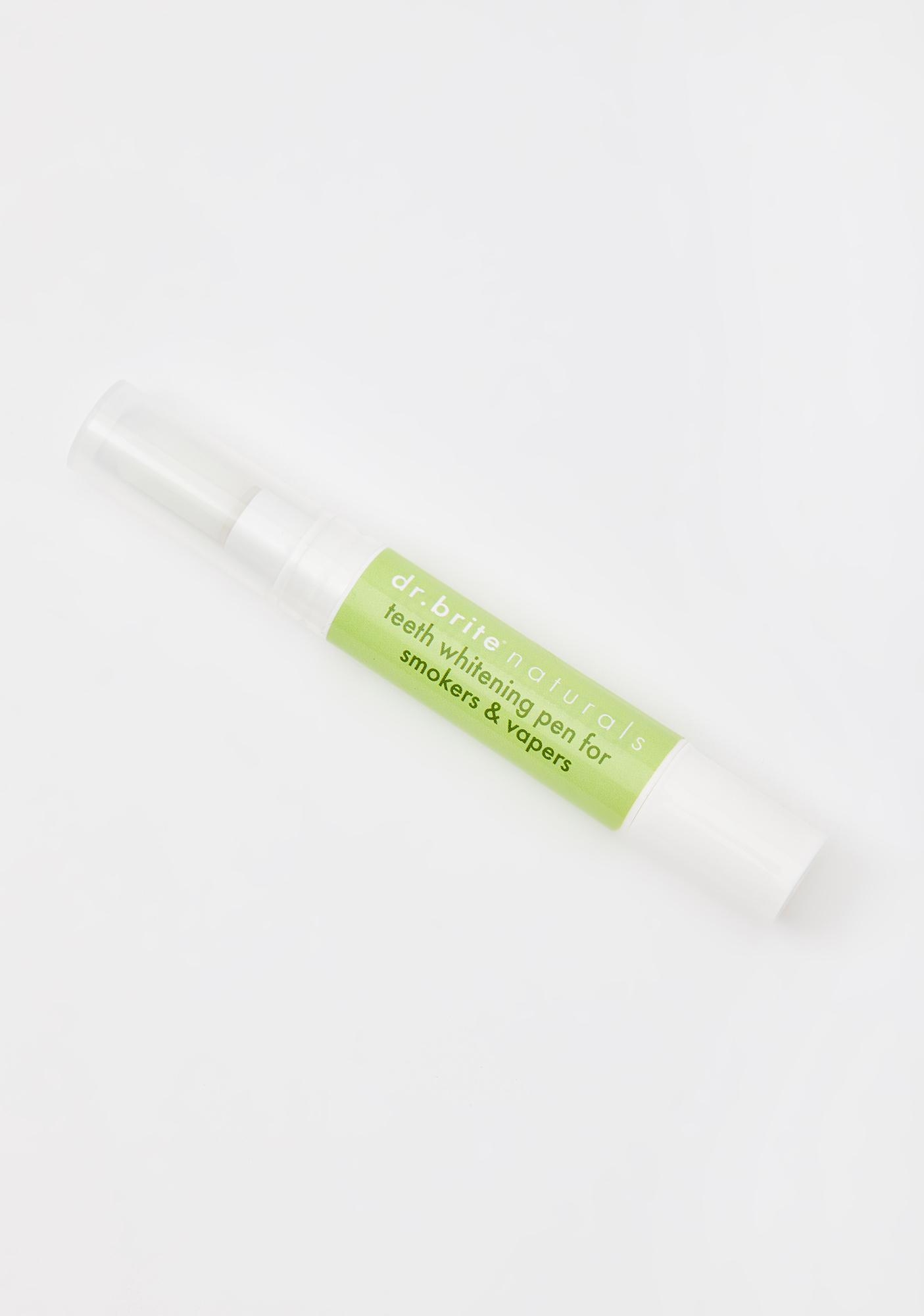 Dr. Brite Smokers N' Vapers Natural Teeth Whitening Pen