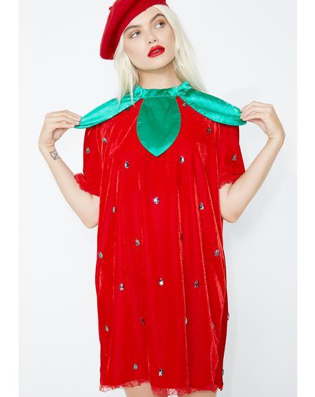 Berry Delicious Strawberry Costume