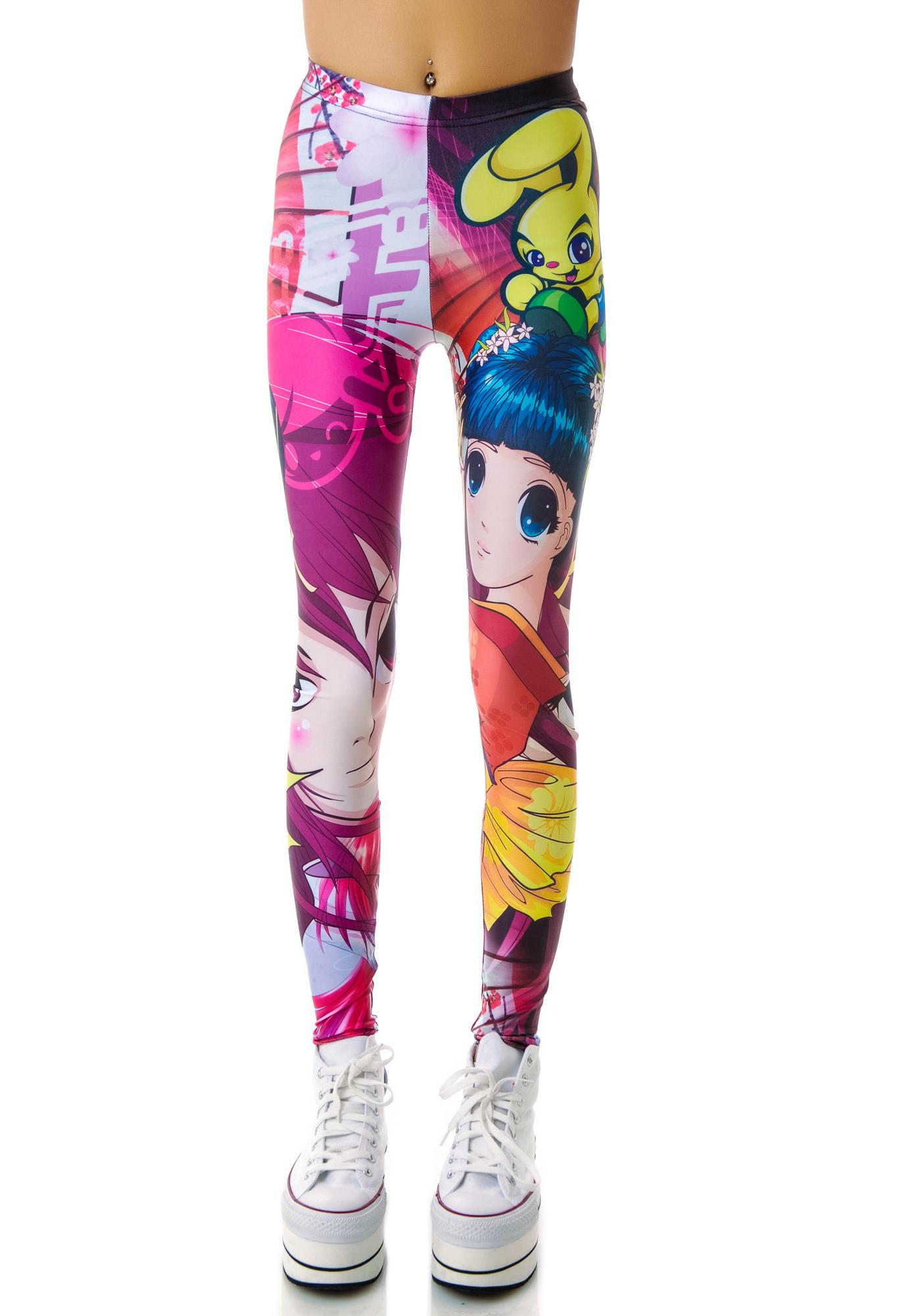 Manga Leggings
