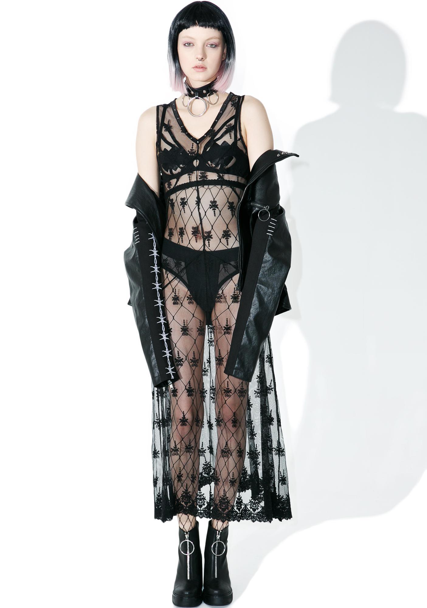 Disturbia Widow Dress