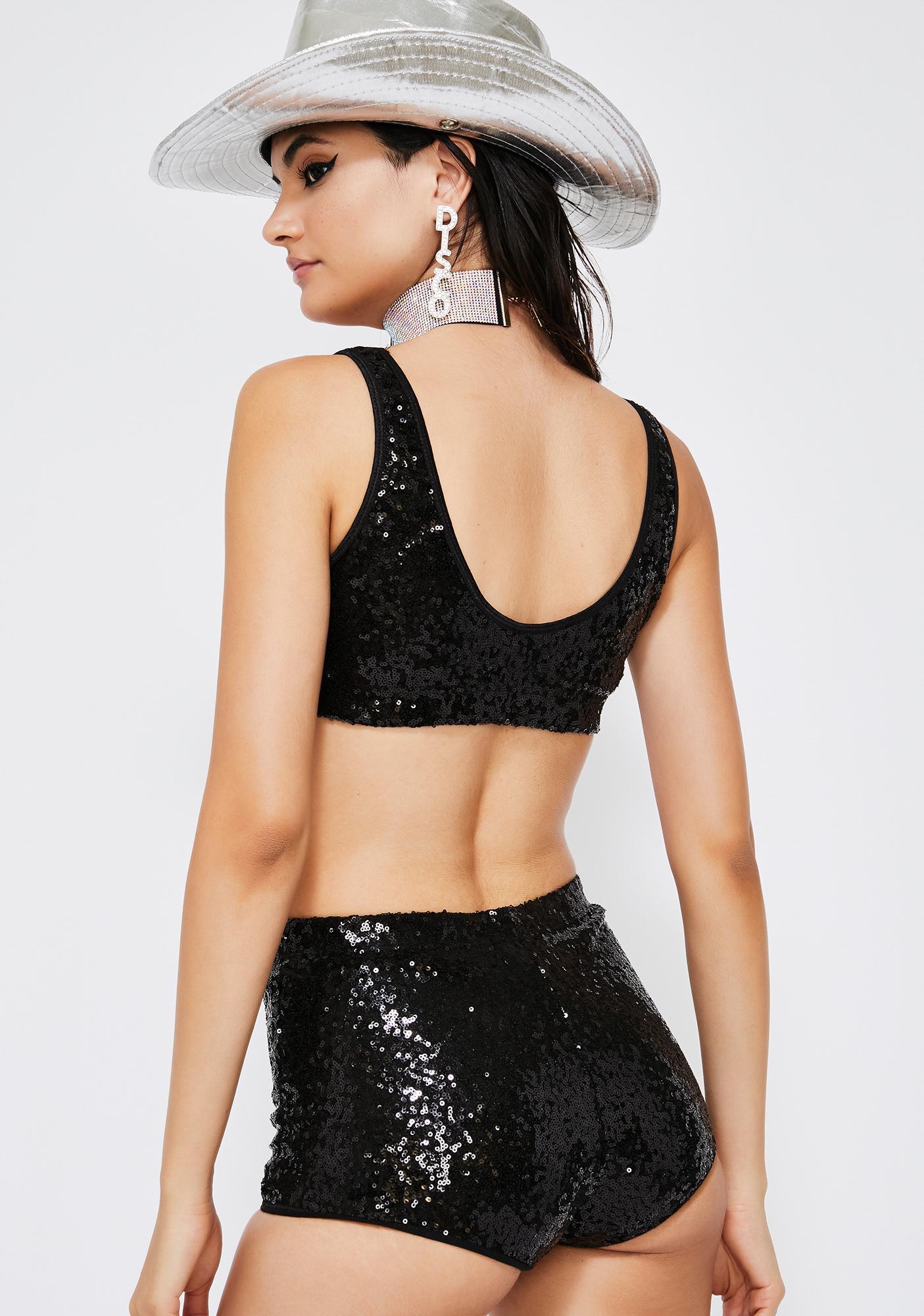 Kiki Riki Shimmer Streak Sequin Set