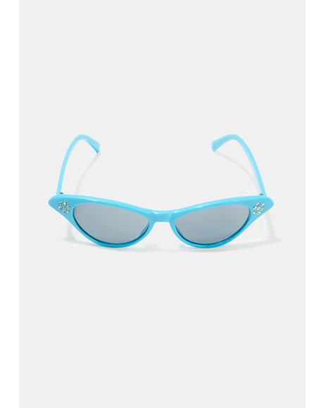 Pretty Fierce Cat Eye Sunglasses