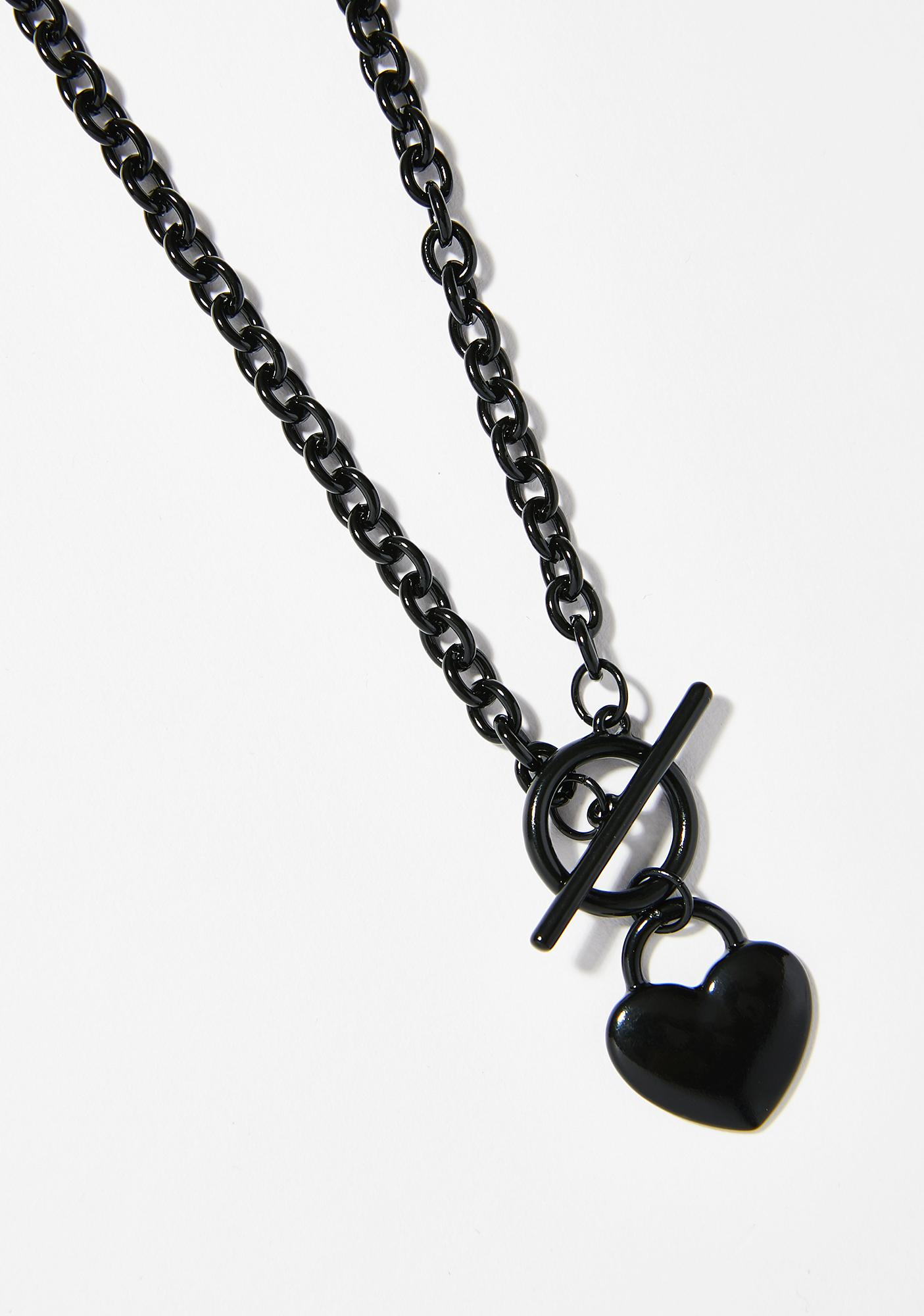 Double Tap Heart Necklace