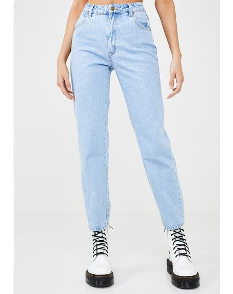 Original Straight Leg Denim Jeans