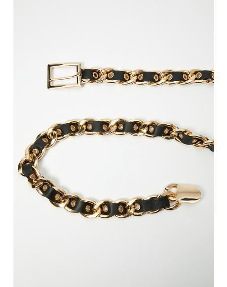 Deluxe Diva Woven Belt