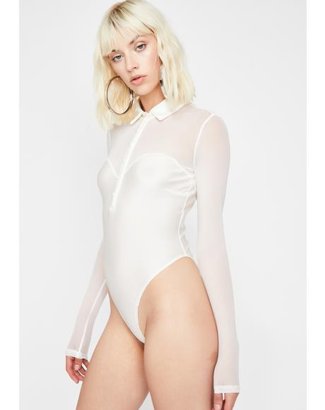 Icy Electrik Vixen Polo Bodysuit