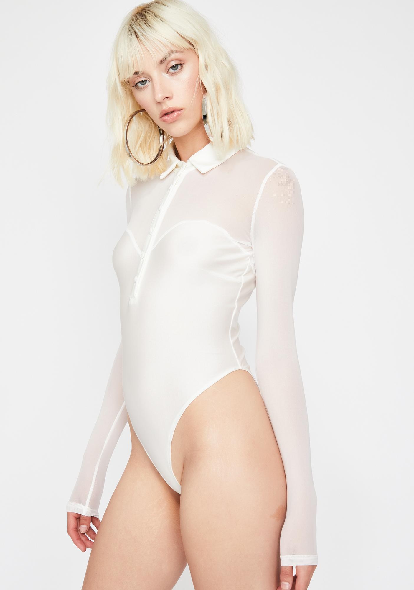 Icy Electrik Vixen Polo Bodysuit