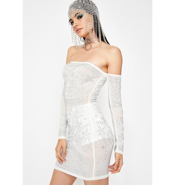 Frosted Lavish Legends Bodycon Dress