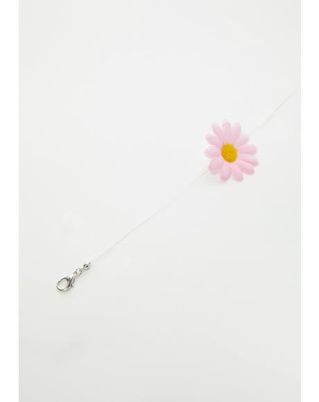 Delicately Blooming Flower Choker