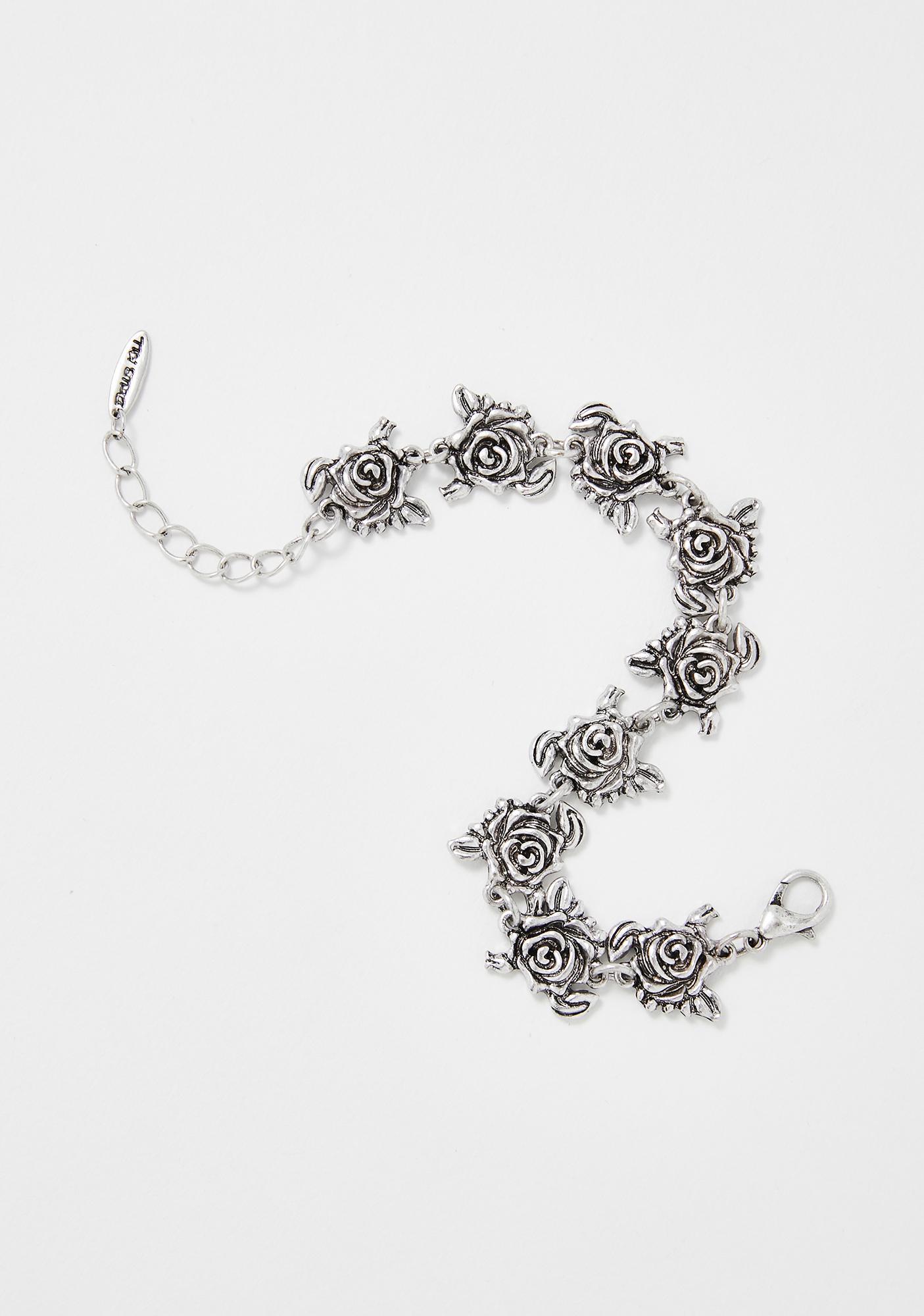Fading Beauty Rose Bracelet