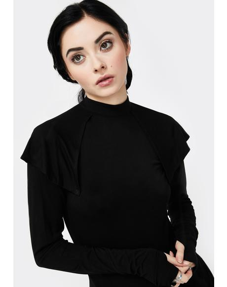 Eliza Cape Long Sleeve Top
