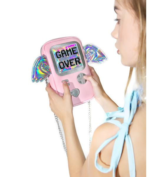 Skinnydip Game Over Cross Body Bag