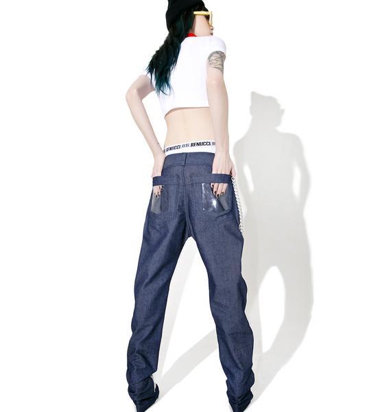 Sicko Cartel See Through Sicko Denim Pants