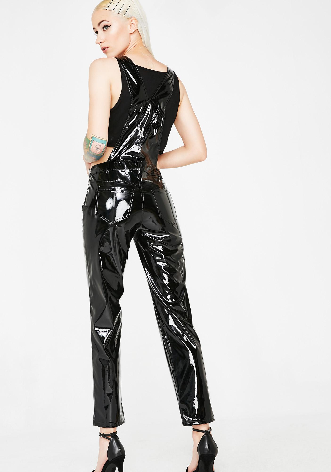 Current Mood Blaze Of Glory PVC Overalls
