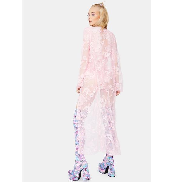 Sugar Thrillz Sweetest Dreamer Lace Romper Set