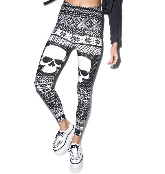 Iron Fist Skullflake Leggings