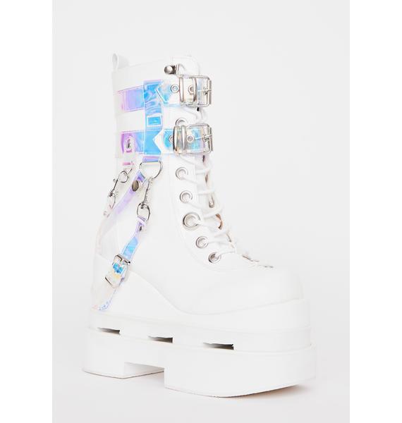 Demonia Timeless Magic Platform Boots