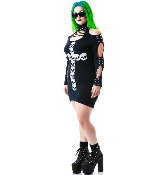 Catacombs Studded Dress