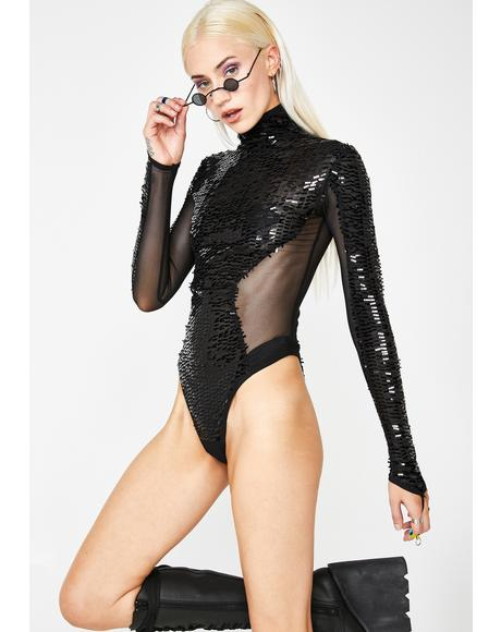 Stardust Coven Sequin Bodysuit