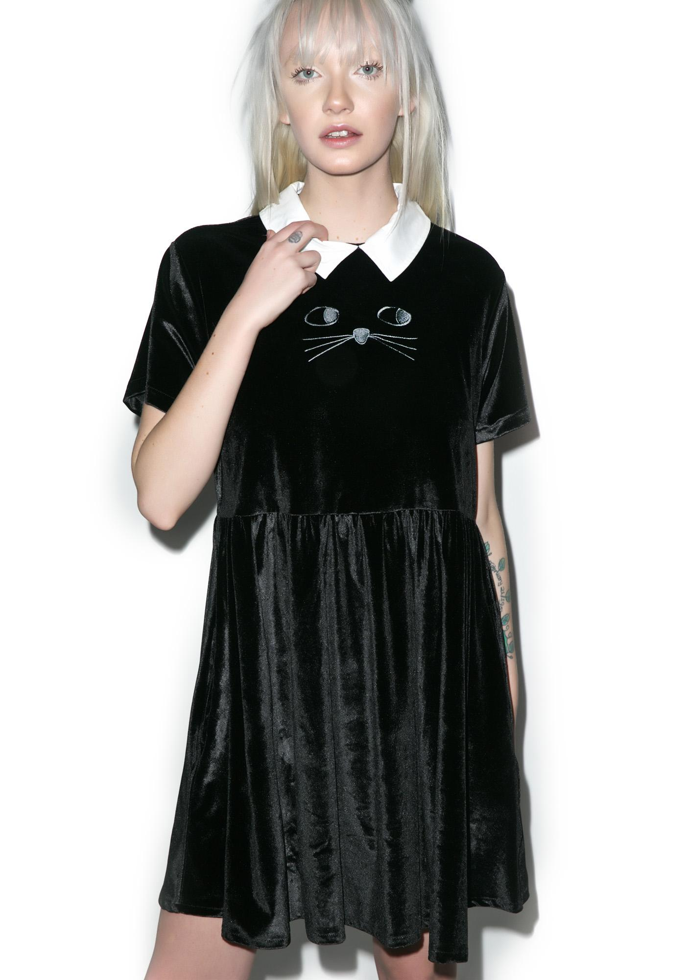 Lazy Oaf Cat Collar Dress