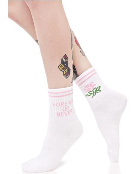 Forever Or Never Socks