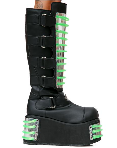 Techno UV Platform Boots