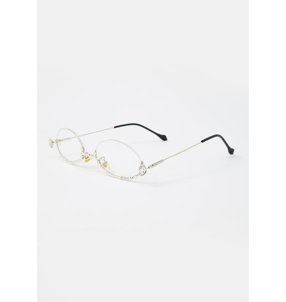 Clear Winner Wire Frame Glasses