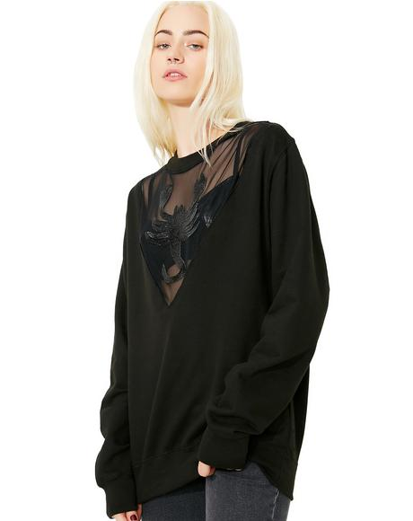 Toxic Sting Mesh Panel Top