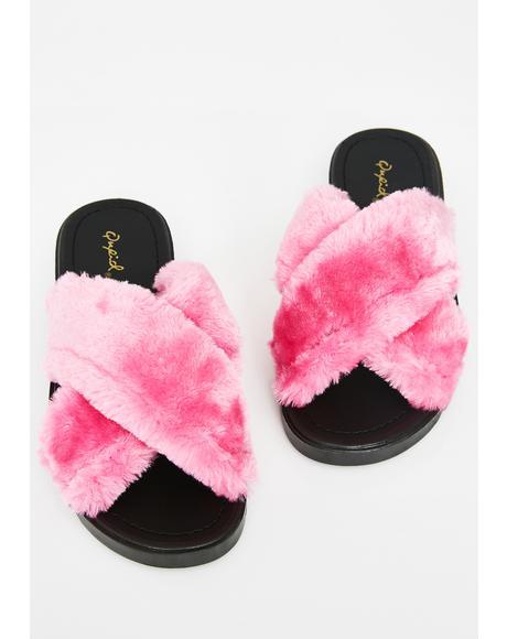 Luxx AF Fuzzy Slides