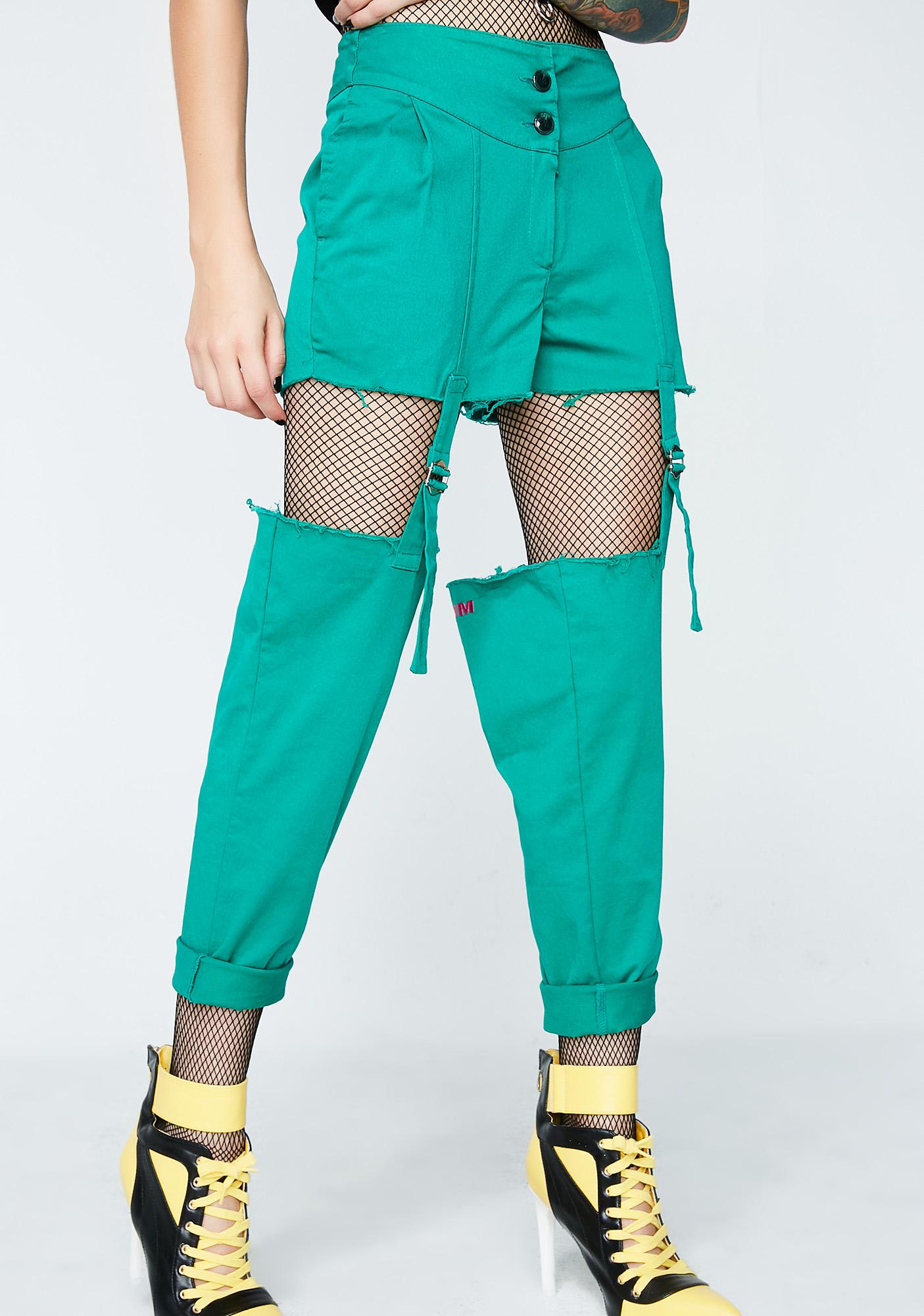 Skoot Garter Belt Pants