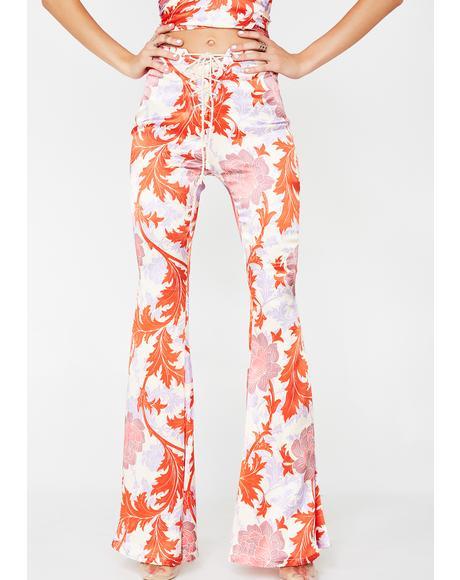 Anemone Pink Jimi Pants