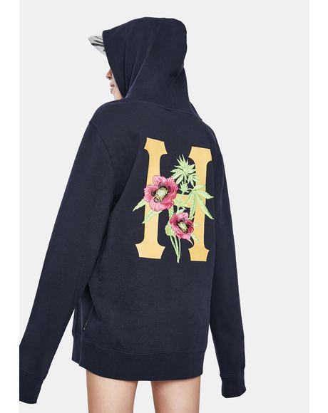 French Navy Planta Pullover Hoodie