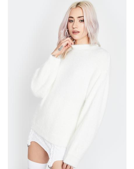 Keep It Simple Knit Sweater
