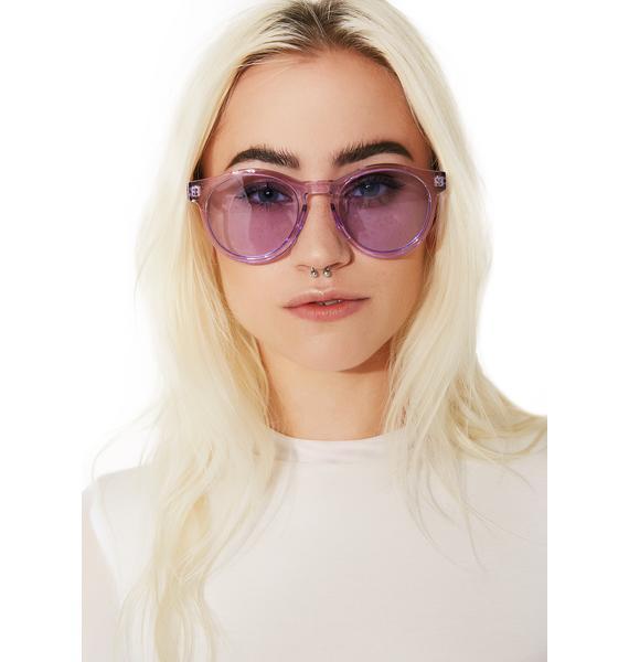 Violet Pardon Me Sunglasses