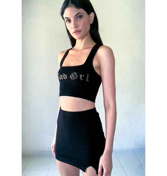 Poster Grl Boujee Bad Grl Skirt Set