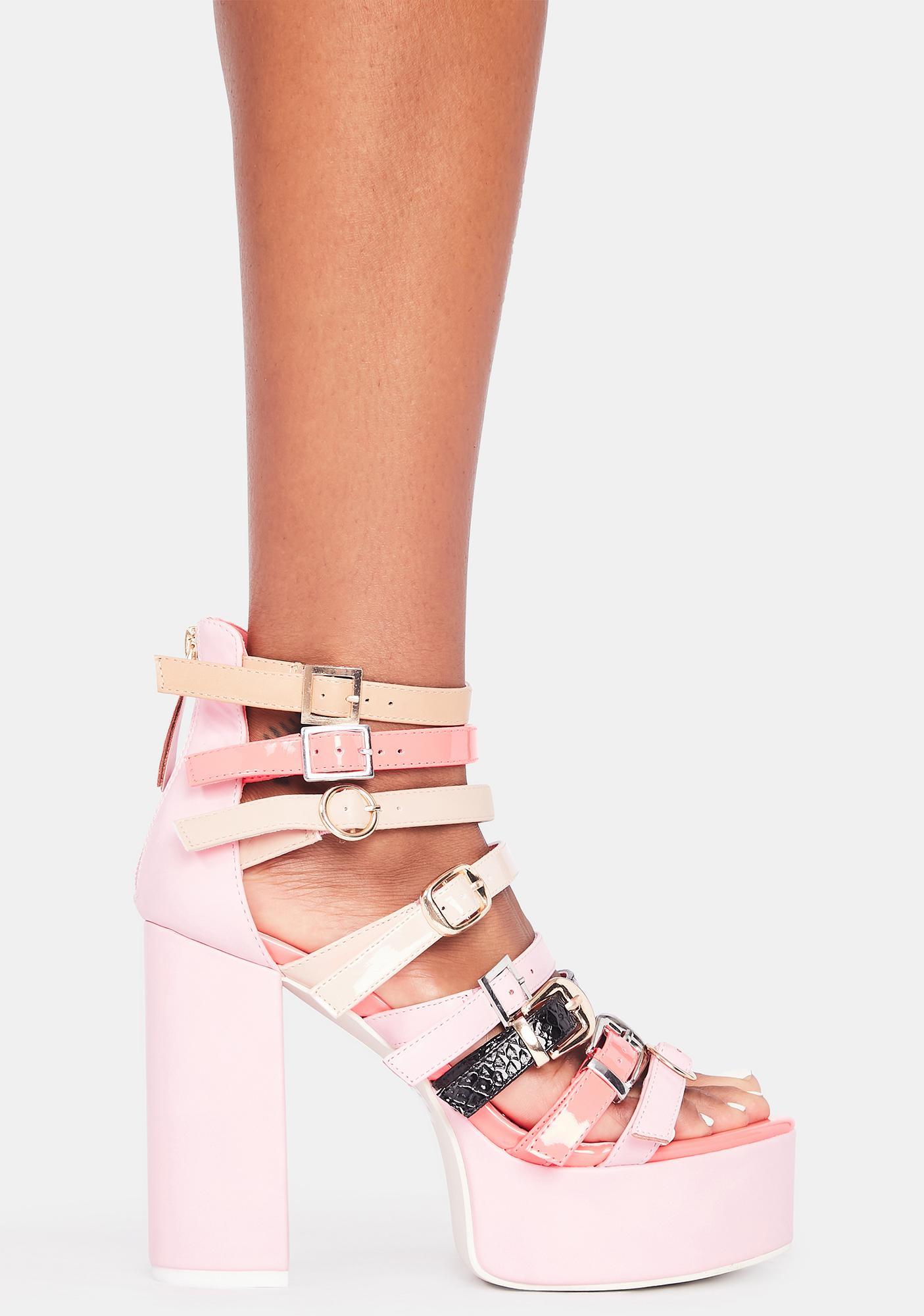 Pretty Proper Edition Platform Heels