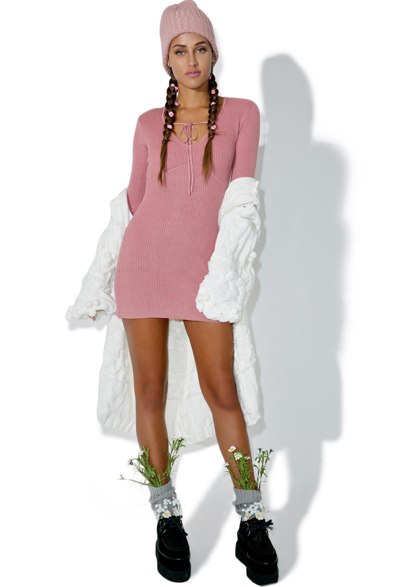 For Love & Lemons Delancey Mini Dress