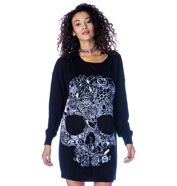 Wild One Skull Jumper Dress
