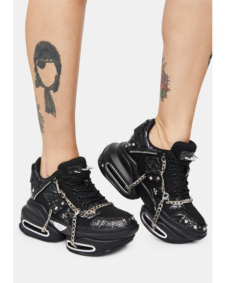Feel The Noise Chain Sneakers