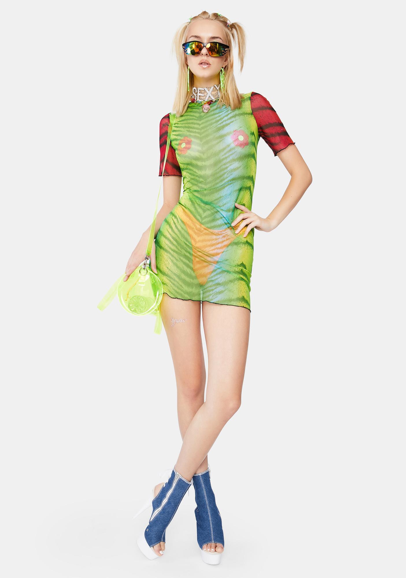 Ivy Berlin Feral Tiger Dress